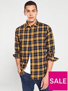 jack-jones-jake-check-long-sleeve-shirt-yellownavy