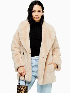 topshop-topshop-velvet-faux-fur-coat-cream