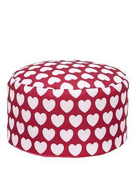 kaikoo-kids-footstool-pink-heart