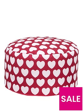 kaikoo-kids-footstool-pink-heart
