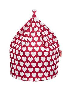 kaikoo-kids-cotton-beanbag-pink-heart