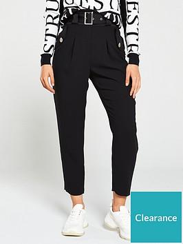 river-island-peg-trouser-black