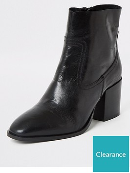 river-island-leather-ankle-boot-black