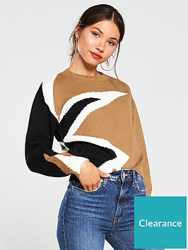 river-island-river-island-star-block-print-knitted-jumper