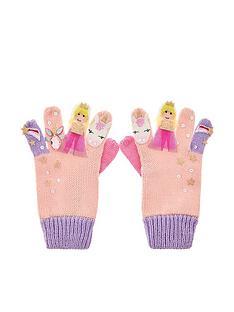 monsoon-mystical-unicorn-colour-block-gloves-pink