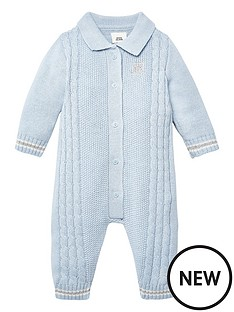 river-island-baby-baby-boys-button-front-knitted-baby-grow-blue
