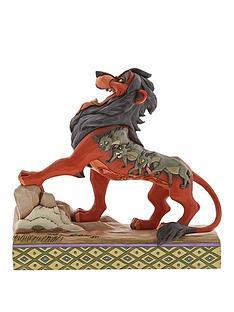 disney-traditions-preening-predator-scar-figurine