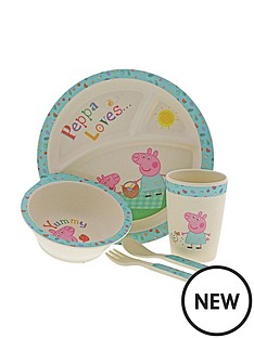 peppa-pig-bamboo-dinner-set