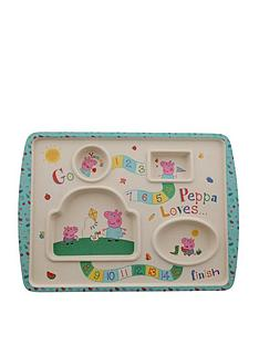 peppa-pig-bamboo-game-plate