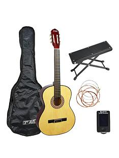 3rd-avenue-3rd-avenue-full-size-classical-guitar-premium-pack-natural-with-6-months-free-online-lessons