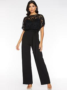 quiz-batwing-top-with-sweetheart-lining-palazzo-jumpsuit-black