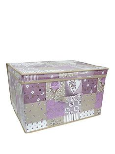 printed-vintage-patchwork-jumbo-storage-box