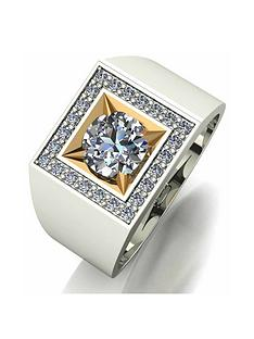 moissanite-moissanite-argentium-silver-brilliant-cut-square-signet-ring-with-9ct-gold-setting