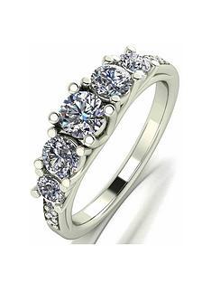moissanite-moissanite-9ct-gold-lady-lynsey-11ct-eq-five-stone-shoulder-set-ring