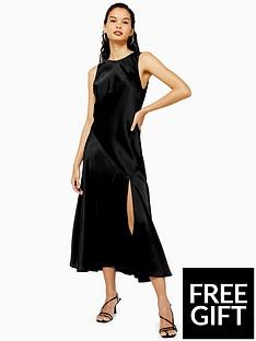 topshop-topshop-sleeveless-split-front-occasion-midi-dress-black