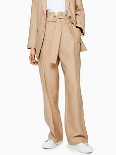 topshop-slouch-peg-trousers-sand
