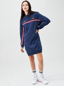 ellesse-heritage-exclusive-semonay-tape-dress-navynbsp