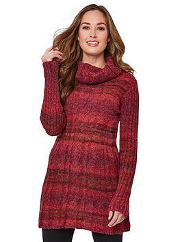 joe-browns-cosy-longline-knit-red