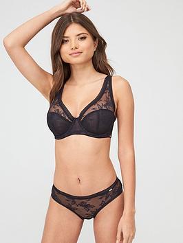 dorina-linux-curves-non-padded-bra-black