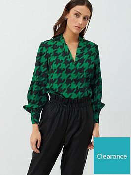 v-by-very-open-collar-blouson-sleeve-shirt-check