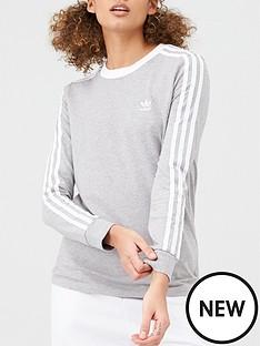 adidas-originals-3-stripe-long-sleeve-t-shirt-greynbsp