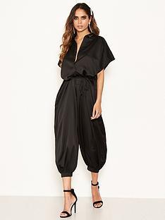 ax-paris-button-up-jumpsuit-black
