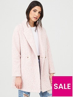 v-by-very-double-breasted-relaxed-coat-pink-marl