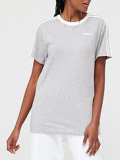 adidas-3-stripe-essentials-boyfriend-tee