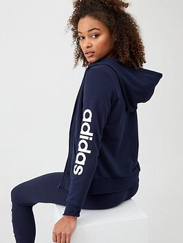 adidas-essentials-linear-full-zip-hoodie-navynbsp