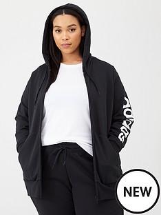 adidas-plus-essentials-full-zip-hoodie-black
