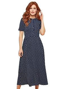 joe-browns-bubble-crepe-polka-dot-dress-navynbspwhite