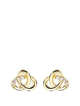love-gold-9ct-gold-cubic-zirconia-celtic-knot-stud-earrings