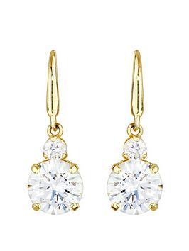 love-gold-9ct-gold-cubic-zirconia-hook-drop-earrings