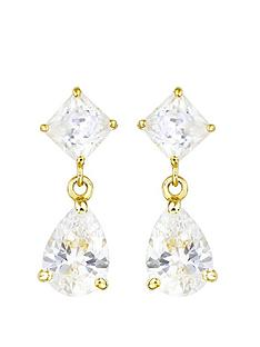 love-gold-9ct-gold-cubic-zirconia-pear-drop-stud-earrings