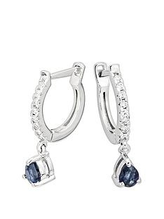 love-gem-9ct-white-gold-13pt-diamond-latch-back-sapphire-drop-earrings
