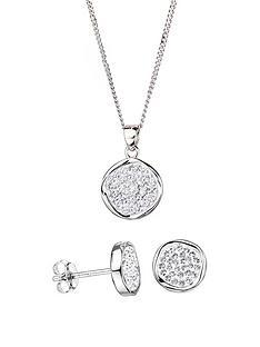 evoke-evoke-sterling-silver-swarovski-crystal-stud-earrings-and-pendant-set