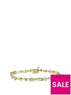love-diamond-gold-plated-sterling-silver-11pt-diamond-infinity-link-bracelet