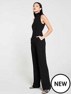 mango-stand-collar-jumpsuit-black