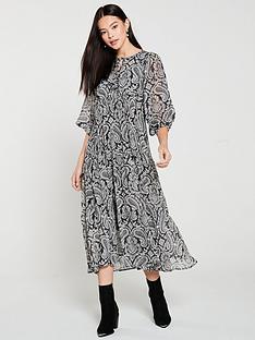 mango-paisley-print-midaxi-dress-black