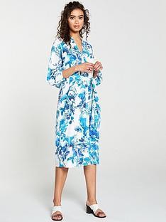 wallis-shadow-fern-shirt-dress-ivory