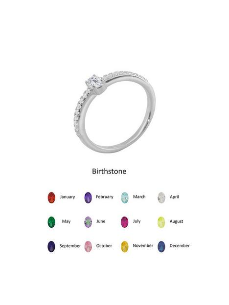 the-love-silver-collection-sterling-silver-cubic-zirconia-solitaire-birthstone-ring