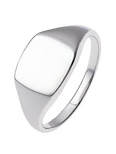 the-love-silver-collection-sterling-silver-oval-signet-ring