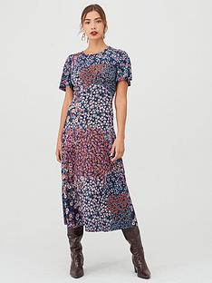 v-by-very-floral-print-midi-dress-multi