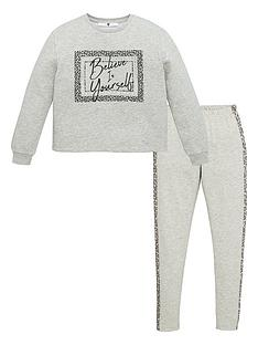 v-by-very-girls-believe-in-yourself-legging-set-grey
