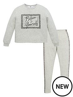 v-by-very-girls-believe-in-yourself-legging-set-grey