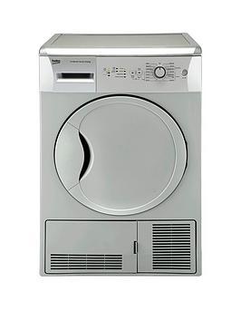 beko-dcu7230s-7kg-load-sensor-condenser-dryer-silver