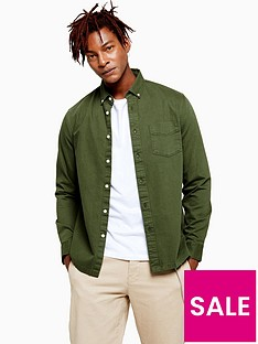 topman-washed-twill-oxford-shirt