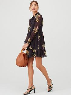 v-by-very-mesh-tiered-mini-dress-floral