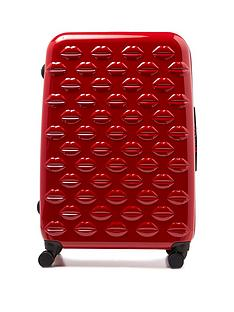 lulu-guinness-red-large-lips-hardside-spinner-case