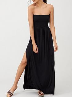 v-by-very-bandeau-maxi-beach-dress-black